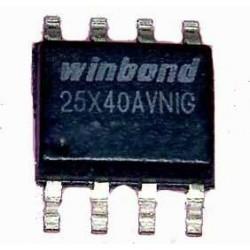 آی سی حافظه W25X40AVNIG