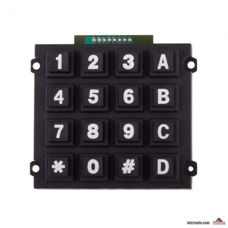 صفحه کلید 4x4 بزرگ - ماتریسی