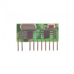 گیرنده 4 کانال لرن RM03-433Mhz