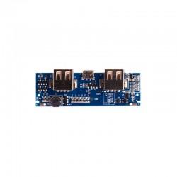 ماژول پاور بانک دو کانال با خروجی 5V/3A USB