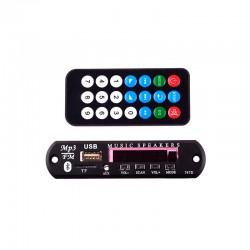 پانل پخش MP3 همراه با کنترل و Bluetooth