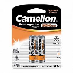 باتری قلمی قابل شارژ کملیون 1800mAh بسته 2 تایی