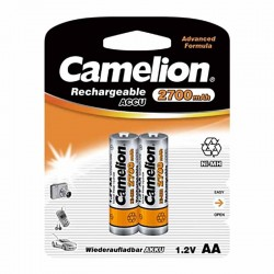 باتری قلمی قابل شارژ کملیون 2700mAh بسته 2 تایی