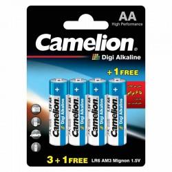 باتری قلمی دیجی آلکالاین کملیون بسته 4 تایی - BP4DG