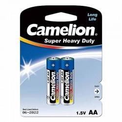 باتری قلمی کملیون بسته 2 تایی سری SuperHeavyDuty