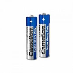 باتری نیم قلمی کملیون بسته 2 تایی سری SuperHeavyDuty