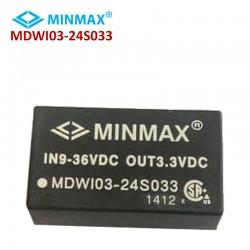 مبدل DC به DC مین مکس MDWI03-24S033