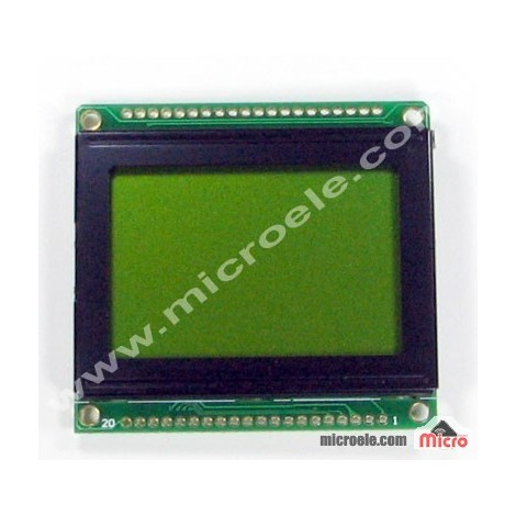 LCD 64*128 فشرده-سبز-گرافیکی