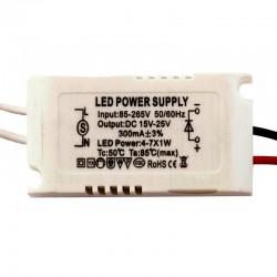 درایور LED 4-7X1W جعبه دار
