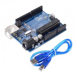 آردوینو یونو Arduino UNO R3 ATmega328P DIP