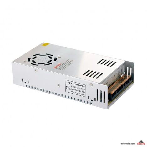 آداپتور سوئیچینگ صنعتی فن دار 12V/30A