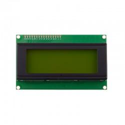 LCD 4*20 سبز-متنی-کاراکتری