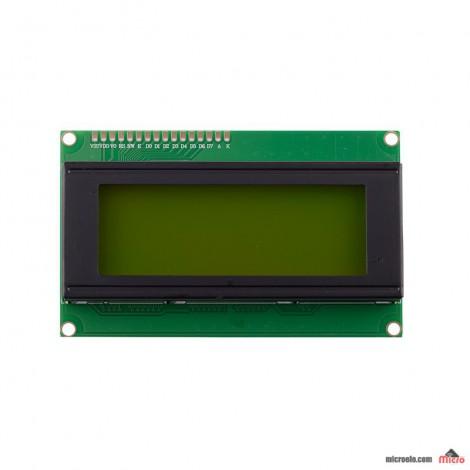 LCD 4*20 سبز-متنی