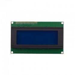 LCD 4*20  کاراکتری آبی