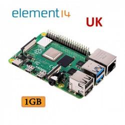 رزبری پای 4 Raspberry Pi4 B 1GB element14-UK